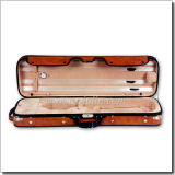 Velvet Interior 4/4 Oblong Shaped Violin Hard Case (CSV1602)
