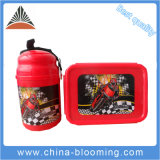 Children 500ml Portable Plastic PE PP Lunch Box Water Bottle