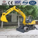 Baoding 6.5ton Wheel Excavators with Good Use and Condition