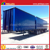 Superlink/ Interlink Semi Curtainside Trailer with PVC Tarpaulin