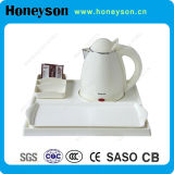 Hotel Electric Kettle with Tray Set