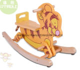 High Quality Wooden Rocking Animal-Wooden Tiger Rocker