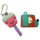 OEM Soft Rubber Key Covers/Cute Soft PVC Key Caps