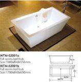 Hot Tub Floor Standing Alone Freestanding Bathtub Wtm-2001A
