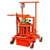 Semi Automatic Block Machine Qmr2-45 Mobile Block Machine