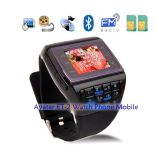 New Listing Quad-Band Dual SIM Dual Standby Compass Watch Mobile Phone Avatar Et-2
