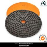7 Inch Metal Bond Copper Resin Polishing Pad for Terrazo