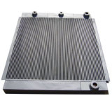 Aluminum Air Compressor Cooler Plate Type Air Cooled Heat Exchangers