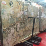 Beautiful Green Marble Slab Natural Stone Tile for Sale
