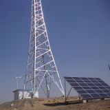 High Safety Stable Communication Base Station System with Variable Pitch Wind Generator and Solar Module