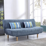 Promotion Two Folded Fabric Sofa Bed