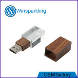 3D Logo Crystal USB Memory Drive USB Flash