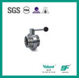Sanitary Stainless Steel Thread Butterfly Valve Sfx051