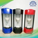 Sandglass Sand Timer Stereo Mini Bluetooth Wireless Speaker with LED Lamp