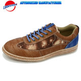 High Quality Casual Shoes for Men PU with Canvas