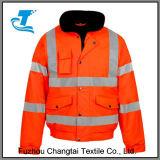 Hi Viz Waterproof Storm Jacket Workwear Security Coat