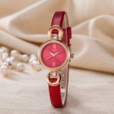 Hot Selling Watch Leather Strap Gift Woman Fashion Watch (Wy-120D)