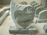High Quality Cross Carving Daniel Green Monuments for Memorials