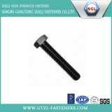 DIN 933 10.9 Grade Hex Bolt with Black Oxide