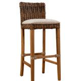 Unique Rattan Bar Stool Wooden Bar Chair A03-11