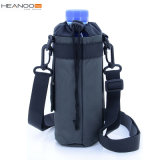 Durable Carrier Water Bottle Holder with Shoulder Strap Great for Stainless Steel Glass Plastic Bottles