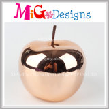 Apple Ceramic Electroplating Piggy Bank