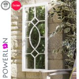Outdoor Decoration Wrought Iron Rectangle Wall Mirror
