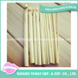 Single Point Hand Knitting Needles Bamboo Crochet Hooks