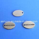 Oval Custom Engraved Metal Jewelry Tags