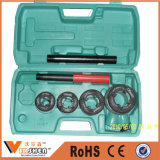 Combination Ratchet Die Stocks Set Pipe Threading Tools