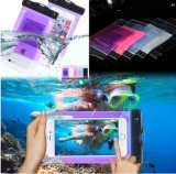 Sealed Clear PVC Waterproof Cell Phone Pouch Bag for Swimming Diving Big Size Smart Phone