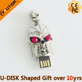 Diamond Gifts Skull Head USB Flash Drive (YT-6231-19)