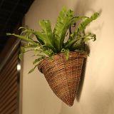 Willow, Hanging Basket, Wicker Woven Hanging Flower Pot Vase Basket, Home Decoration