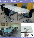 Modern Clear / Opaque Toughened Safety Glass Table Tops
