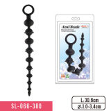 Cheap Silicone Anal Beads Sex Toy for Woman