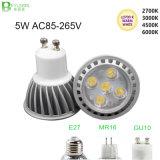 5*1W GU10 E27 MR16 Dimmable LED Spot Lamp