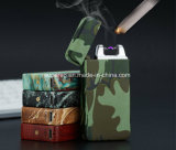 Metal Electronic Camouflage Style USB Cigarette Lighter
