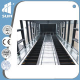 Speed 0.5m/S Stainless Steel Step Vvvf Indoor Escalator
