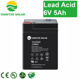 Free Shipping Sealed Rechargeable Battery 6V 5ah