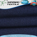 Factory Price Indigo Blue Cotton Stretch Knitting Knitted Denim for Garments