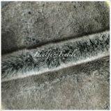 Three Color Tone Wolf Fake Fur