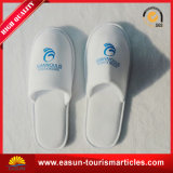 Best Price Custom Embroidery Logo Hotel Slippers