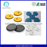 Customized Printing Waterproof RFID Washable PPS Button Laundry Tag