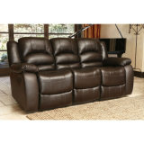 The Luxurious Top-Grain Leather Reclining Sofa