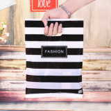 Custom Design Printed PE Carrier Handle Shopping Die Cut Bag
