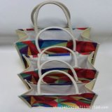 Promotional Natural Wine Packaging Burlap Linen Hemp Jute Shopping Bags