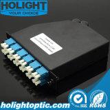Fiber Optic Cassette 2PC MPO/MTP to 24 Core LC Sm