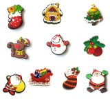 Santa Claus Shape Refrigerator Magnet Christmas Gift for Children (SC-126)