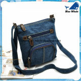 Bw261 Designer Fashion Stitching Washed Canvas Leisure Shoulder Bag