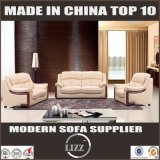 Euro Style Geniune Leather Leather Sofa Set